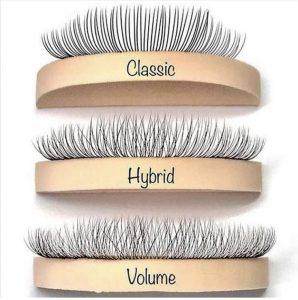 0aebb58b4a4 Hybrid lashes are a combination of Individual and Russian Volume lashes.  They give your lashes a fuller, denser and fluffier look compared to classic  lash ...